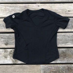 Vintage Lululemon Vee Neck Tee Shirt Made inCanada